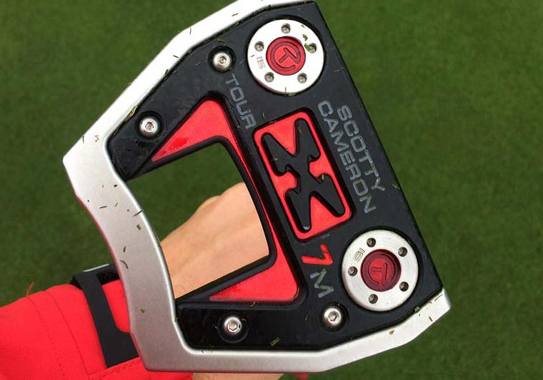SCOTTY CAMERON PUTTERS ON TOUR
